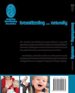 Breastfeeding naturally back cover