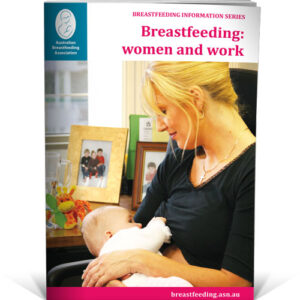 breastfeeding and woman at work