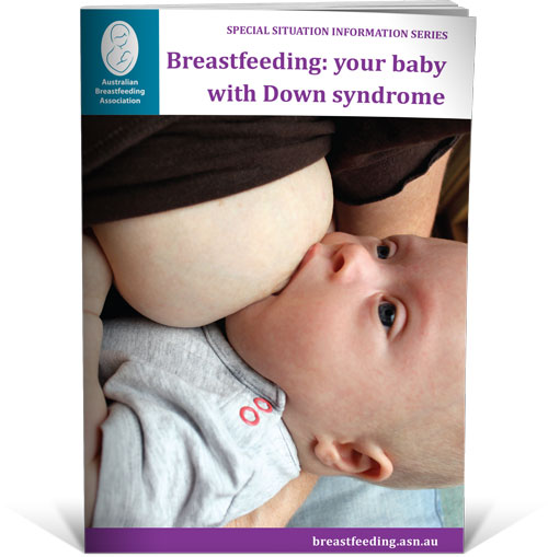 breastfeeding a baby with Down syndrome