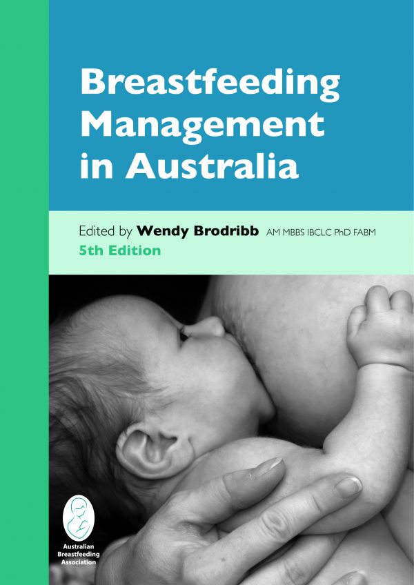 breastfeeding management in Australia textbook cover image
