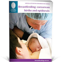 caesarean births and epidurals