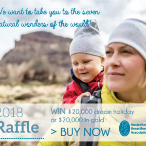 2018 Raffle Tickets Breastfeeding