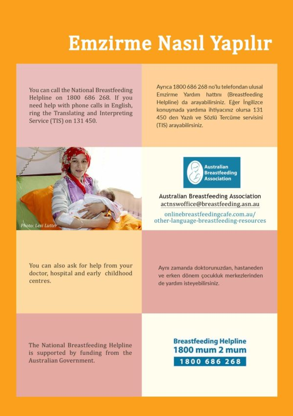 How Breastfeeding works - Turkish